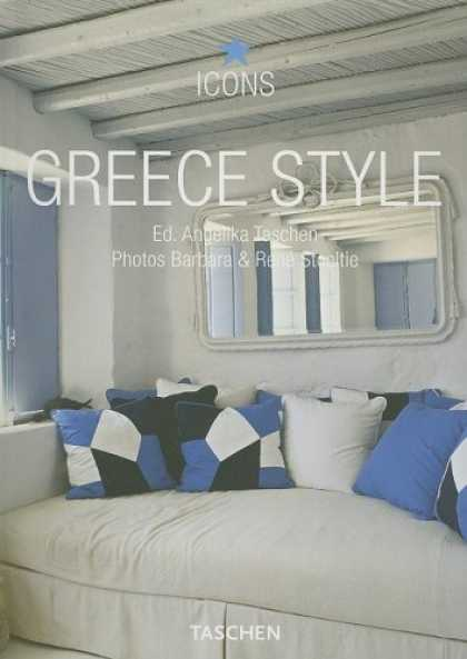 Taschen Books - Greece Style: Exteriors, Interiors, Details (Icons S.)