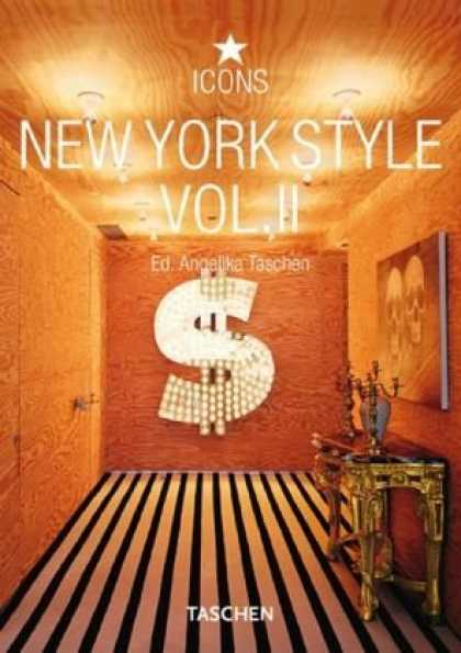 Taschen Books - New York Style, Vol. 2 (Icons Series)