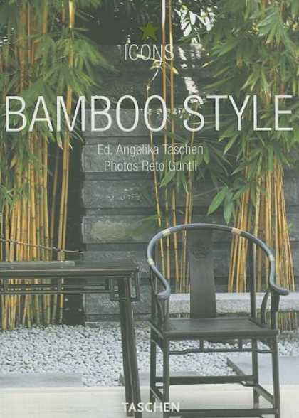 Taschen Books - Bamboo Style: Exteriors, Interiors, Details (Icons) (French and German Edition)