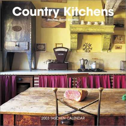 Taschen Books - Country Kitchens Calendar (2003) (Wall Calendar)