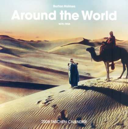 Taschen Books - Burton Holmes 2008 Calendar: Around the World 1892-1952 (Wall Calendar) (Multili