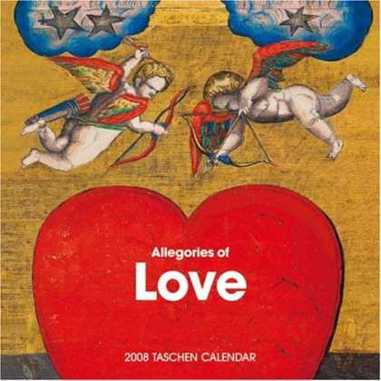 Taschen Books - Book of Love (2008 Wall Calendar)