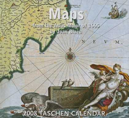 Taschen Books - Maps Calendar: From the Atlas Maior of 1165 by Joan Blaeu (2008 Tear Off)