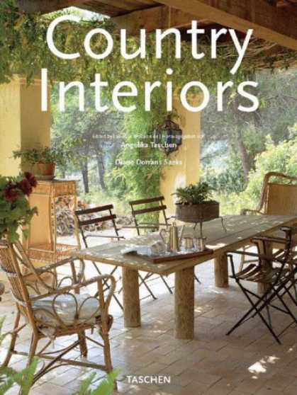 Taschen Books - Country Interiors Interiores Rurales (Spanish Edition)