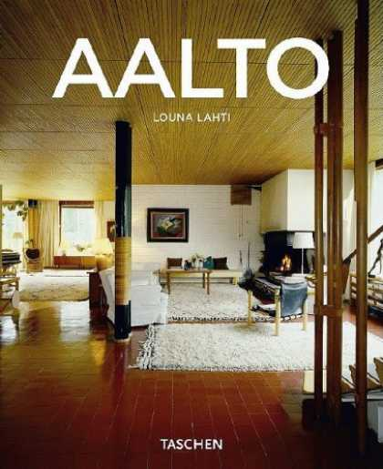 Taschen Books - Alvar Aalto, 1898-1976: Paradise for the Man in the Street (Taschen Basic Archit
