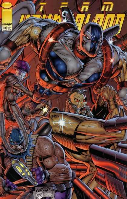 Team Youngblood 10 - Rob Liefeld