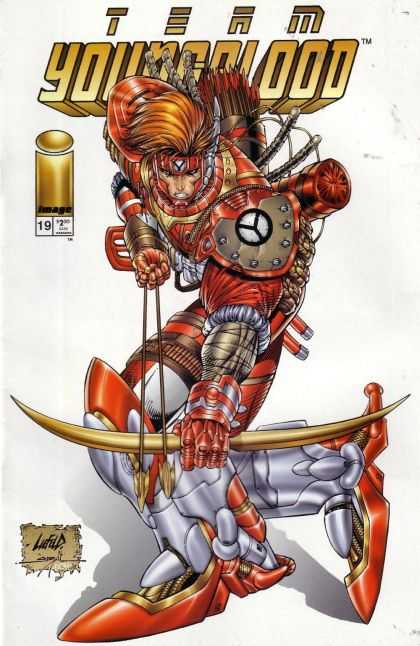 Team Youngblood 19 - Rob Liefeld