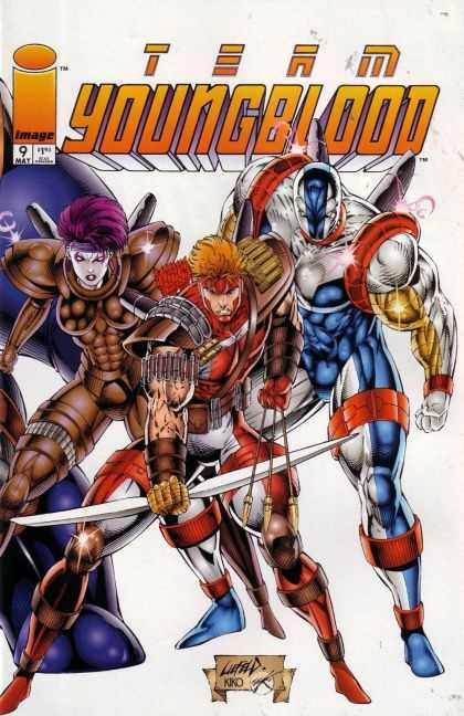 Team Youngblood 9 - Rob Liefeld