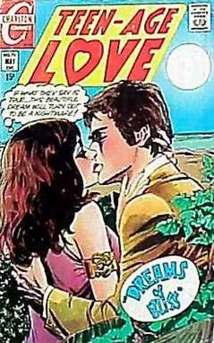 Teen-Age Love 70 - Moon - Sky - Approved By The Comics Code Authority - Dreams - Bliss