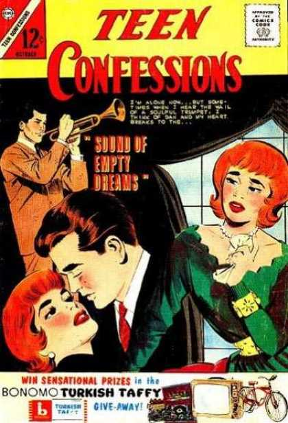 Teen Confessions 25 - Sound Of Empty Dreams - Trumpet - Kiss - Red Hair - Bonomo Turkish Taffy