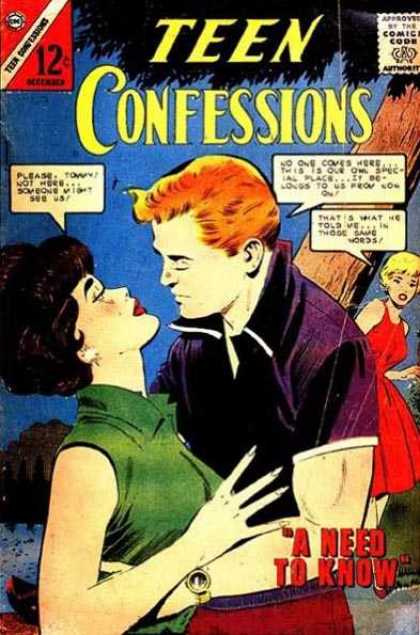 Teen Confessions 26 - Tom - A Need To Know - Comic Code - Gold Watch - Tree