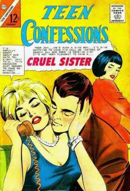 Teen Confessions 32 - Cruel Sister - Talking On Telephone - Jay - Sandy - Telling A Lie