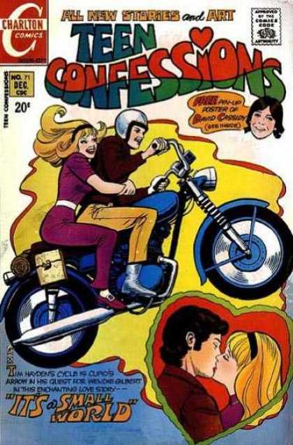 Teen Confessions 71 - Motorcycle - Small World - Helmet - Kissing - Cassidy