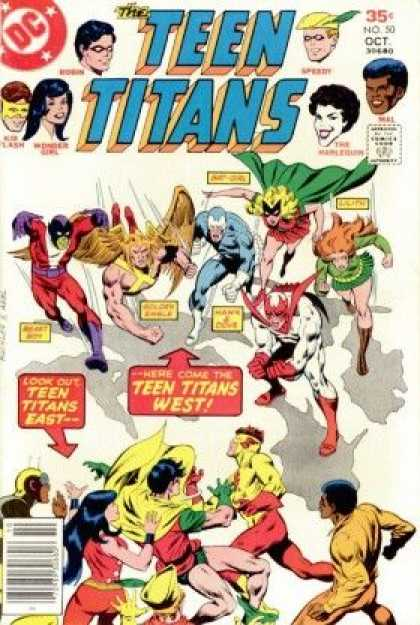 Teen Titans 50 - Richard Buckler