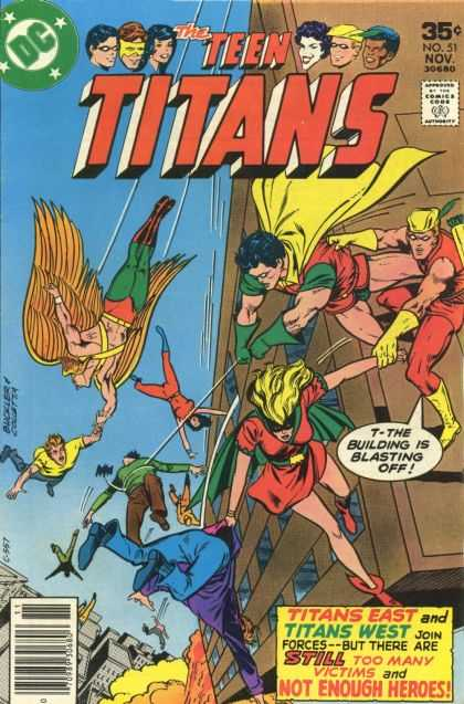 Teen Titans 51 - Richard Buckler