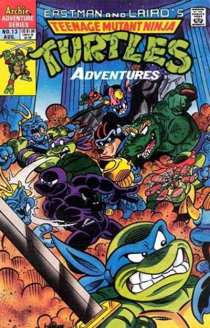 Teenage Mutant Ninja Turtles Adventures 2 13