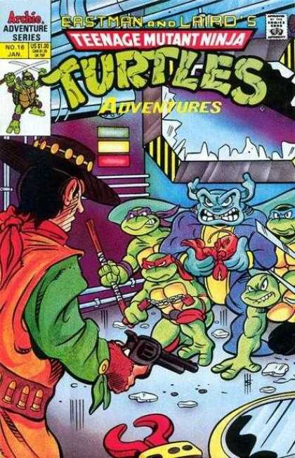 Teenage Mutant Ninja Turtles Adventures 2 16