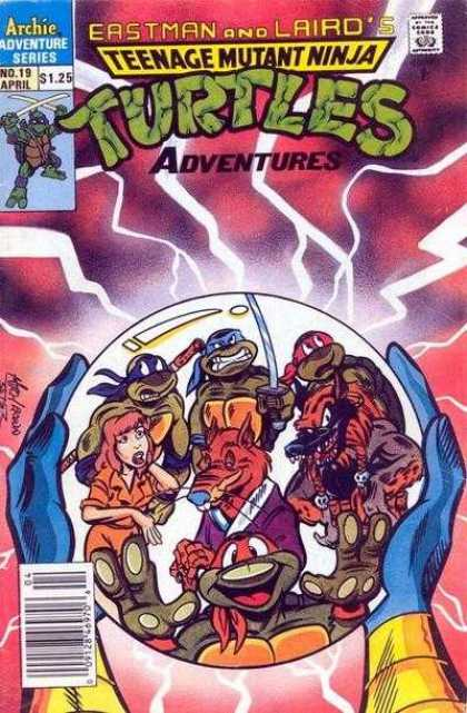 Teenage Mutant Ninja Turtles Adventures 2 19 - Archies Adventure Series - Eastman - Laird - Heroes On A Half-shell - Mean And Green