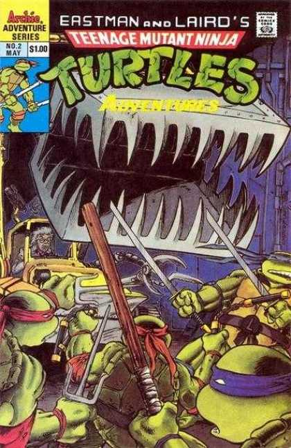 Teenage Mutant Ninja Turtles Adventures 2 2