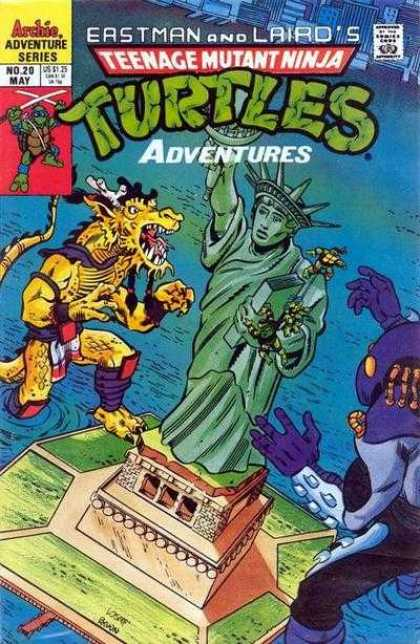 Teenage Mutant Ninja Turtles Adventures 2 20 - Saving New York - Four Heros - Pizza Time - Guards Of New York - Tmnt Back In New York