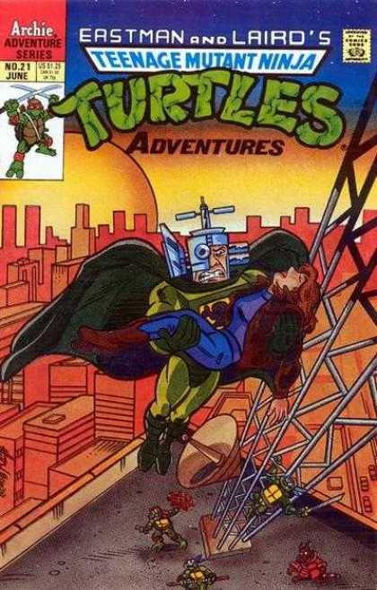 Teenage Mutant Ninja Turtles Adventures 2 21