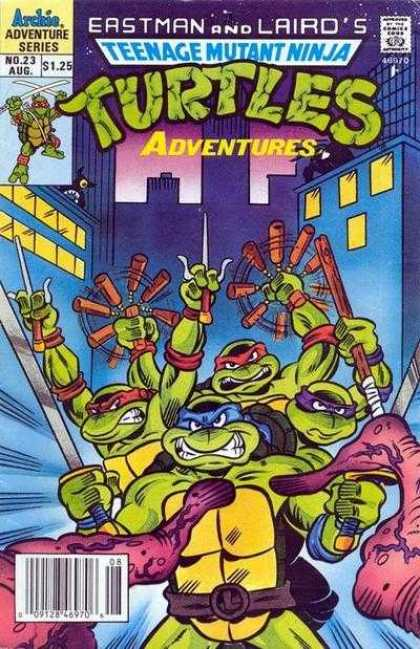 Teenage Mutant Ninja Turtles Adventures 2 23