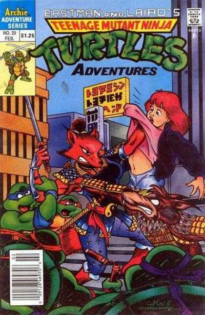 Teenage Mutant Ninja Turtles Adventures 2 29