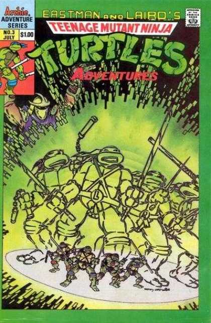 Teenage Mutant Ninja Turtles Adventures 2 3