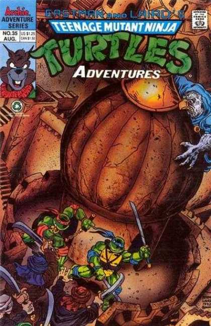 Teenage Mutant Ninja Turtles Adventures 2 35