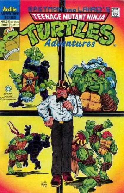Teenage Mutant Ninja Turtles Adventures 2 37 - Archie - Adventure Series - Leonardo - Donatello - Man