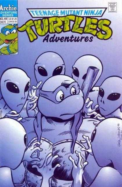 Teenage Mutant Ninja Turtles Adventures 2 49 - Aliens - Leonardo - Donatello - Michaelangelo - Raphael