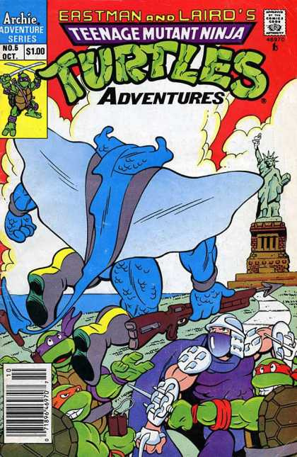 Teenage Mutant Ninja Turtles Adventures 2 5 - Eastman - Laird - Archie - Adventure Series - Statue Of Liberty