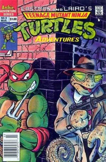 Teenage Mutant Ninja Turtles Adventures 2 9 - Eastman - Laird - Archie - Lizard - Gun