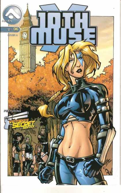 Tenth Muse 6 - Clock Tower - Secret Service - Weapons - Female Action Heroes - Female Gang