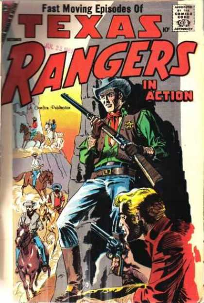 Texas Rangers in Action 13 - Weapon - Cowboy - Horse - Hat - Fast Moving Episodes