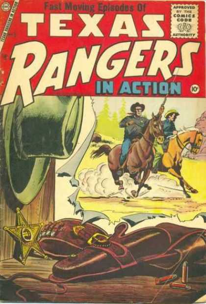 Texas Rangers in Action 5 - Fast Moving - Episodes - Cowboys - Badge - Cowboy Hat