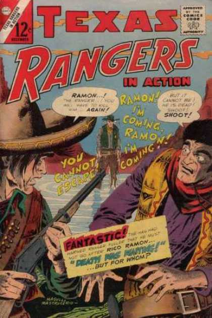 Texas Rangers in Action 53 - River - Rifle - Mexicans - Bounty - Scared