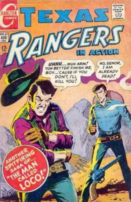 Texas Rangers in Action 67 - Dead - Arm - Kill - Loco - Wounded