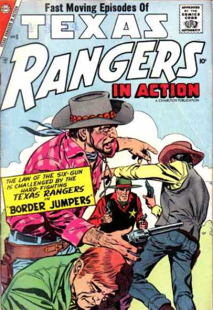 Texas Rangers in Action 8
