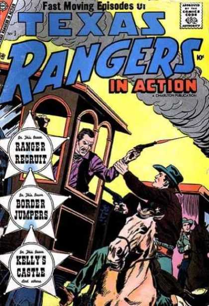 Texas Rangers in Action 9 - Ranger Recruit - Cowboy - Gun - Weapon - Border Jumpers