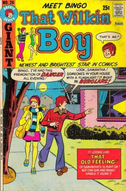 That Wilkin Boy 26 - That Old Feeling - Newest And Brightest Star In Comics - Giant - Danger - Burglars