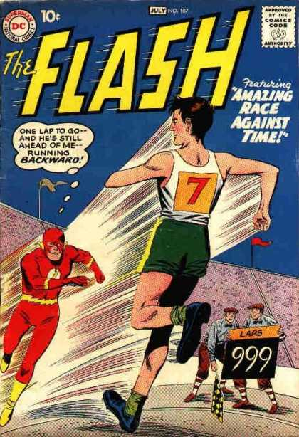 The Flash (1959) 107 - Flash In The Pan - A Run For His Money - Speed Sped - The Man Whos Faster Than Flash - 7 Speeds Up