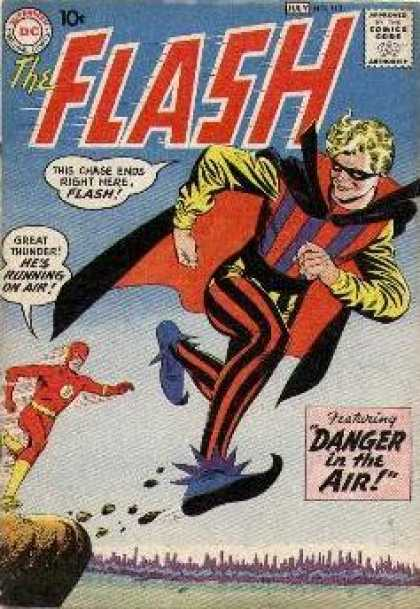 The Flash (1959) 113 - Fly Away - Super Hero - Running On Air - Masked Man - Caught