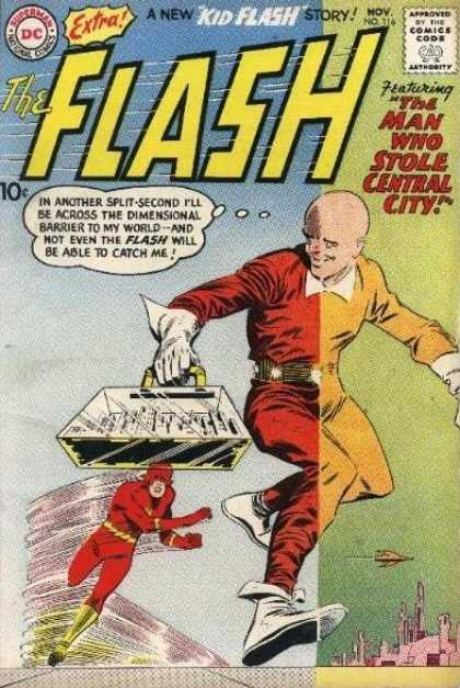 The Flash (1959) 116 - Central City - World - Dimensional - Barrier - Stole