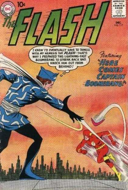 The Flash (1959) 117 - Dc - Superhero - Australian - Captain Boomerang - Central City