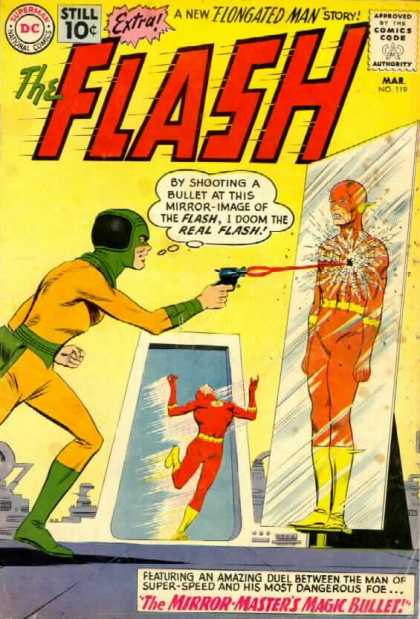 The Flash (1959) 119 - Shoot - Hero - Poster - Mirror - Hands