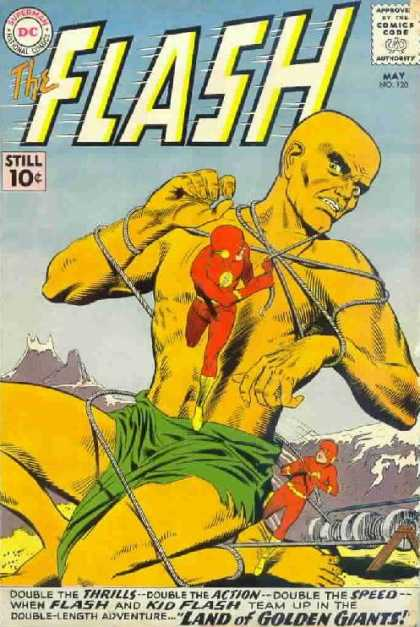 The Flash (1959) 120 - Man - Tied - Arm - Skin