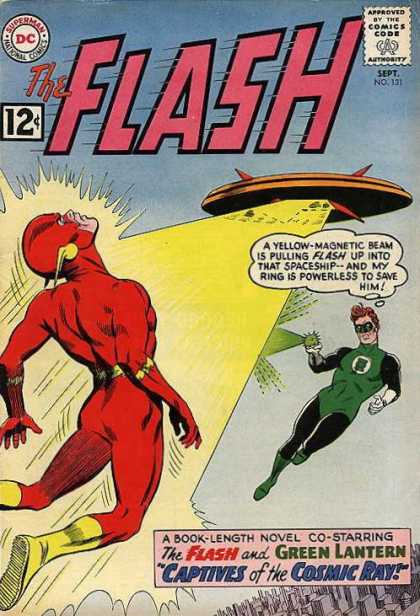 The Flash (1959) 131 - Green Ray - Captives Of The Cosmic Ray - Ufo - Bean - Space