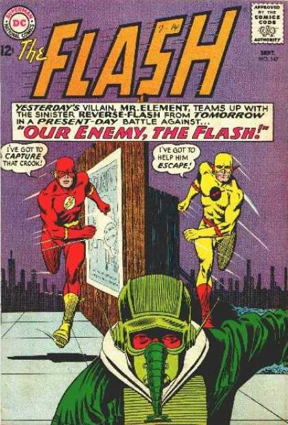 The Flash (1959) 147 - Comics Code - Costume - Dc - City - Mask