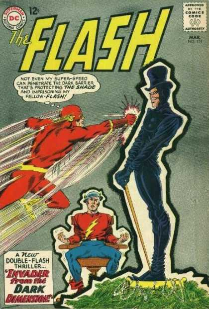 The Flash (1959) 151 - The Shade - Invader From The Dark Dimension - Double-flash Thriller - Money - Super Speed